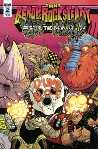 TMNT: Bebop & Rocksteady #2. IDW Publishing