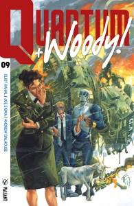 Quantum + Woody! #9 , Valiant