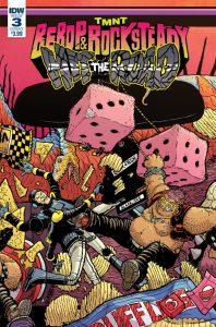 TMNT: Bebop & Rocksteady #3, IDW Publishing