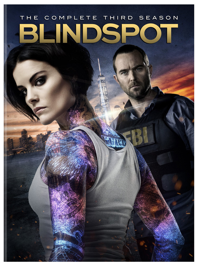 Blindspot Season 3 DVD, NBC