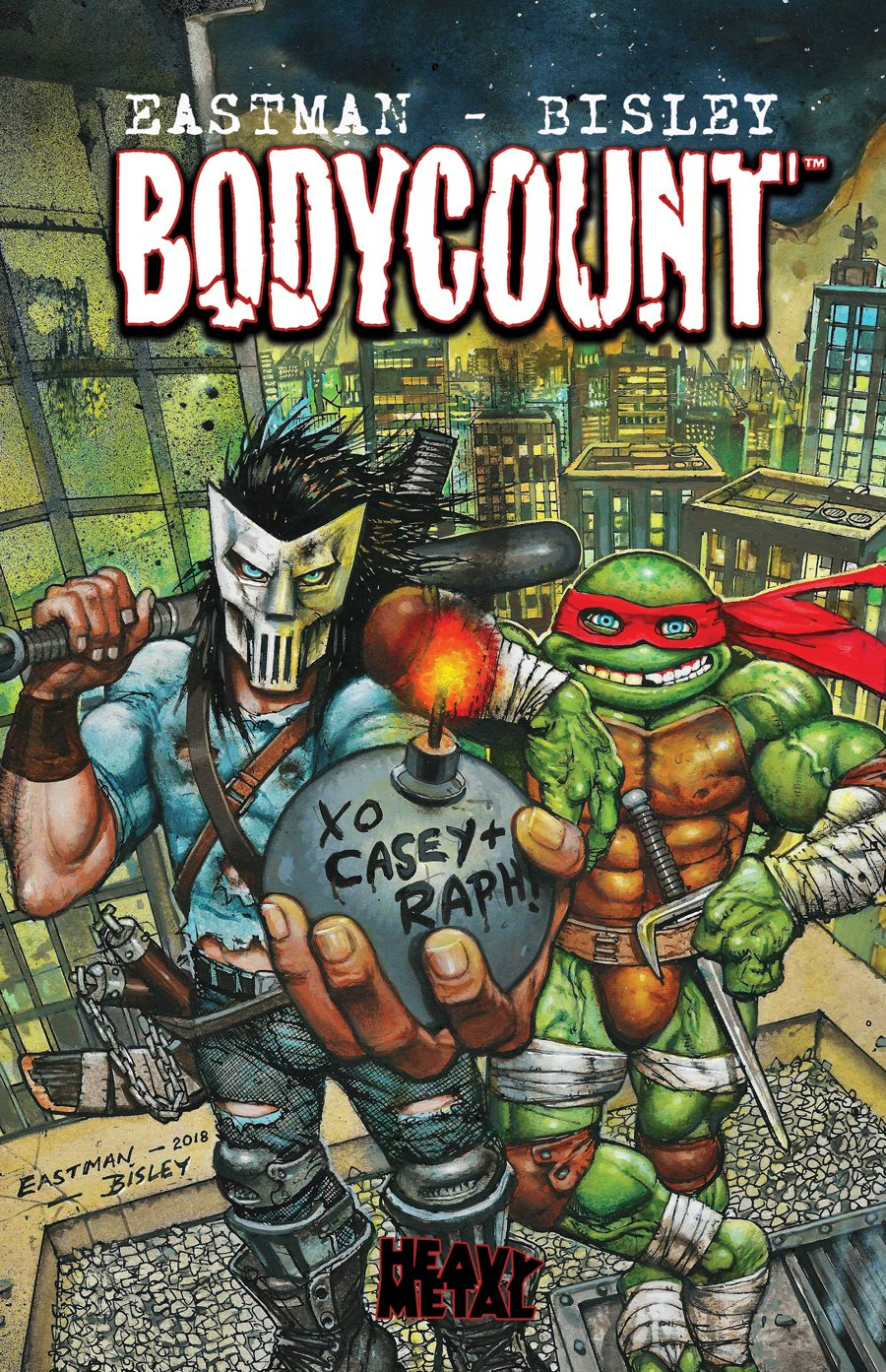 Teenage Mutant Ninja Turtles: Bodycount, IDW Publishing