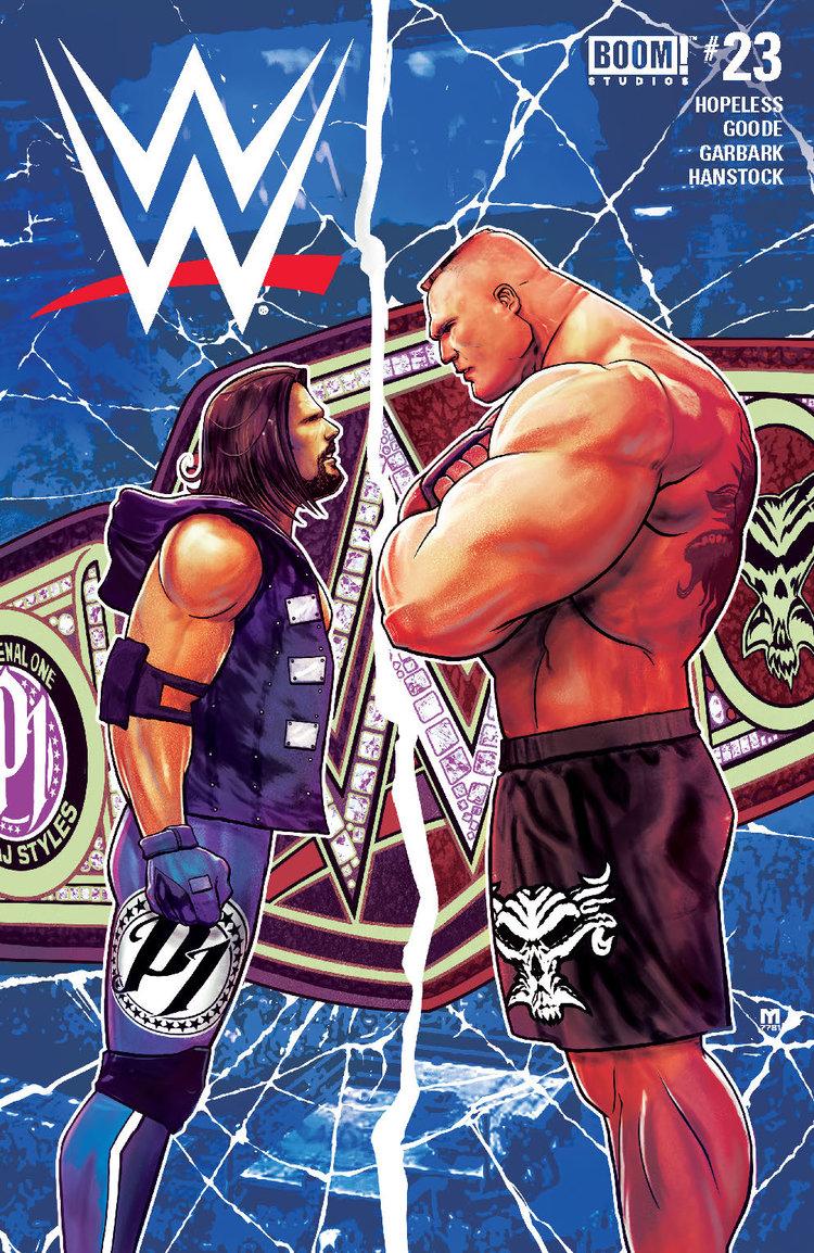 WWE #23, BOOM! Studios