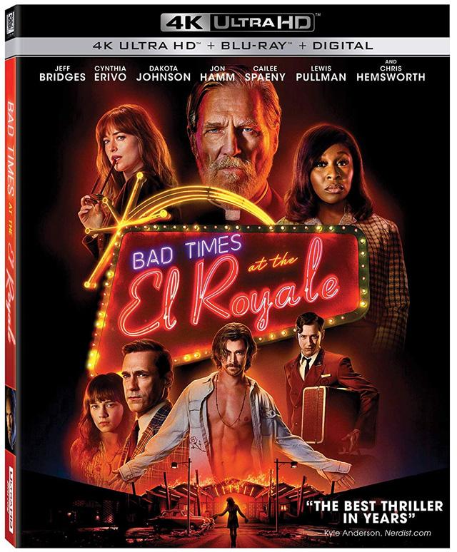 Dakota Johnson Bad Times Royale, DVD