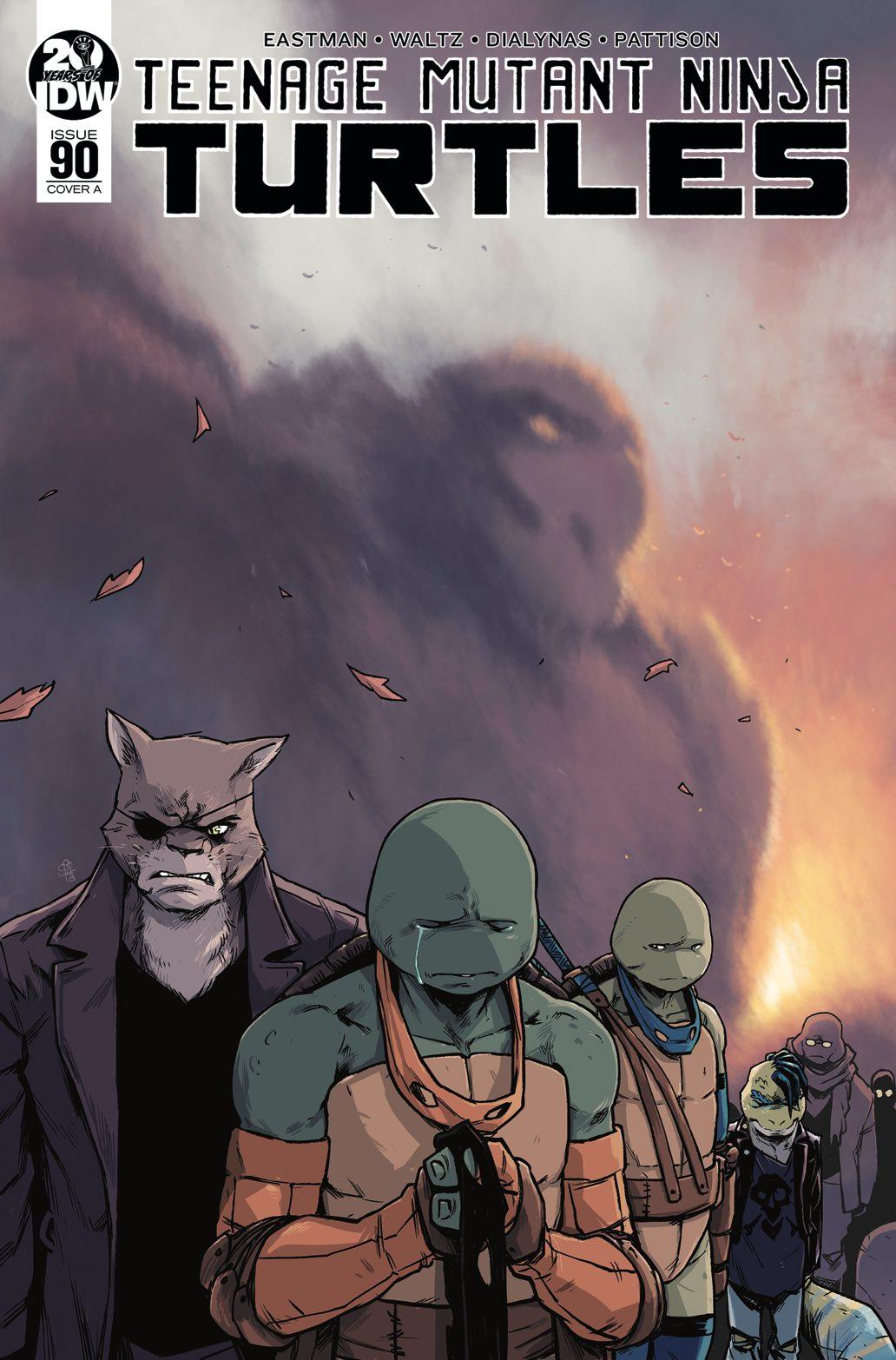 Teenage Mutant Ninja Turtles #90, IDW Publishing