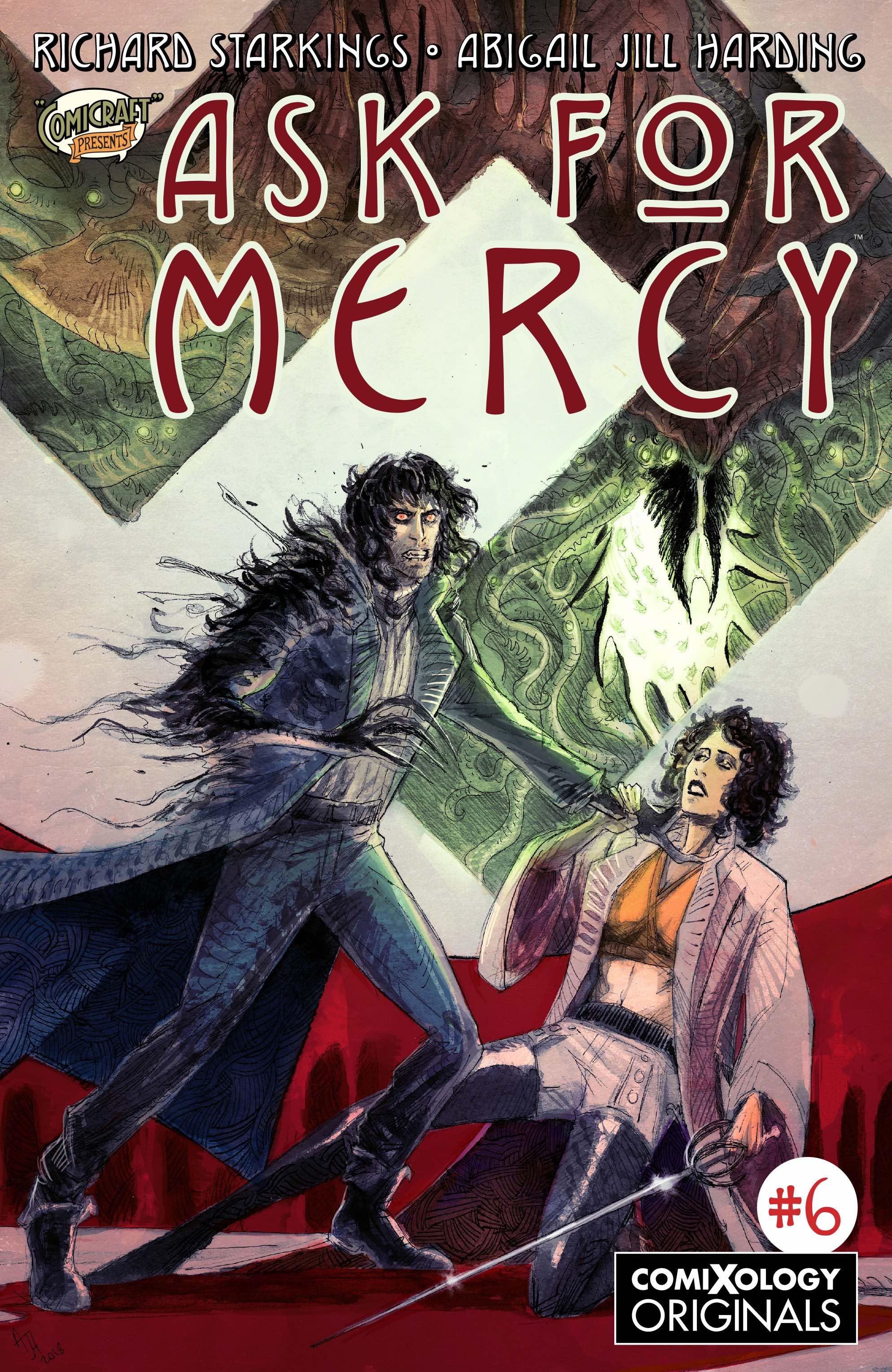 Ask Mercy #6, comiXology Originals