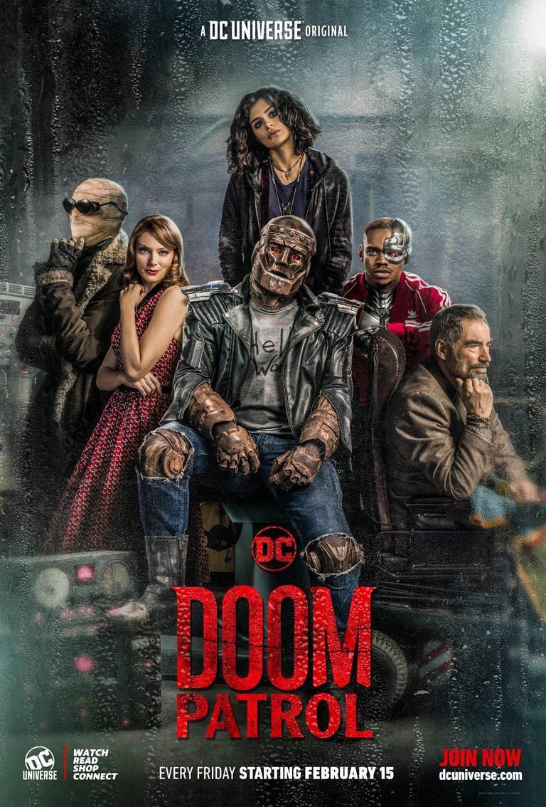 Doom Patrol DC Universe, DC Comics