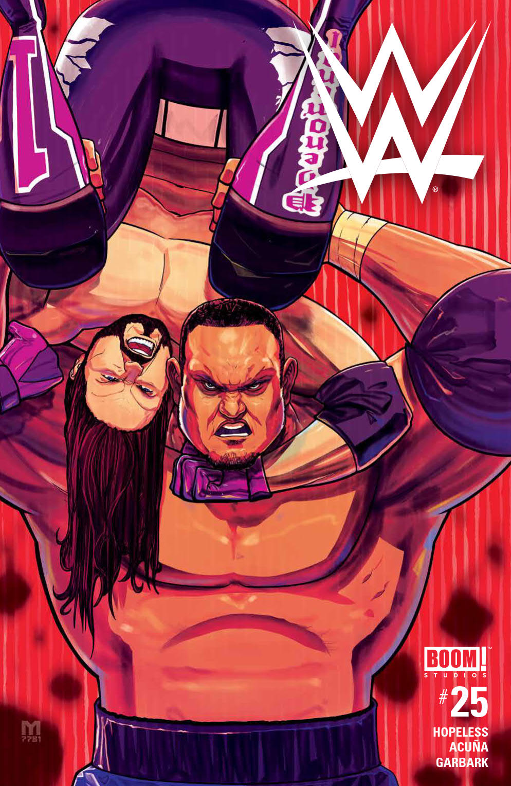 WWE #25, BOOM! Studios
