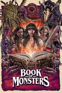 Book Monsters Blu-Ray Artwork, Epic Pictures
