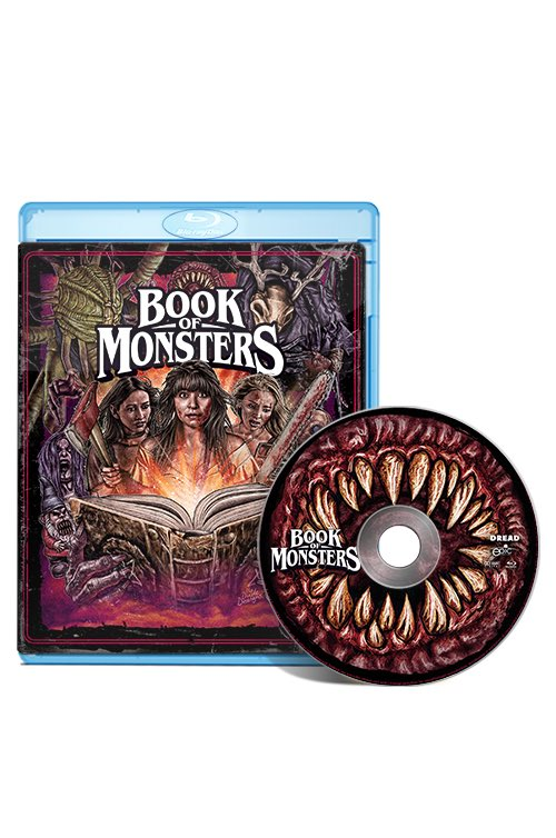 Lizzie Aaryn-Stanton, Book of Monsters Blu-Ray