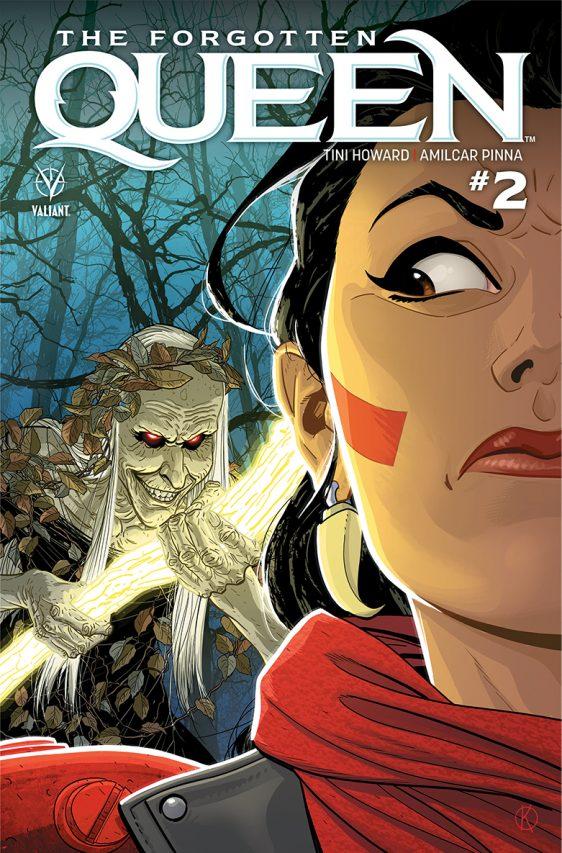 Forgotten Queen #2, Valiant