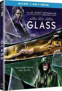 Glass DVD, Blu-Ray