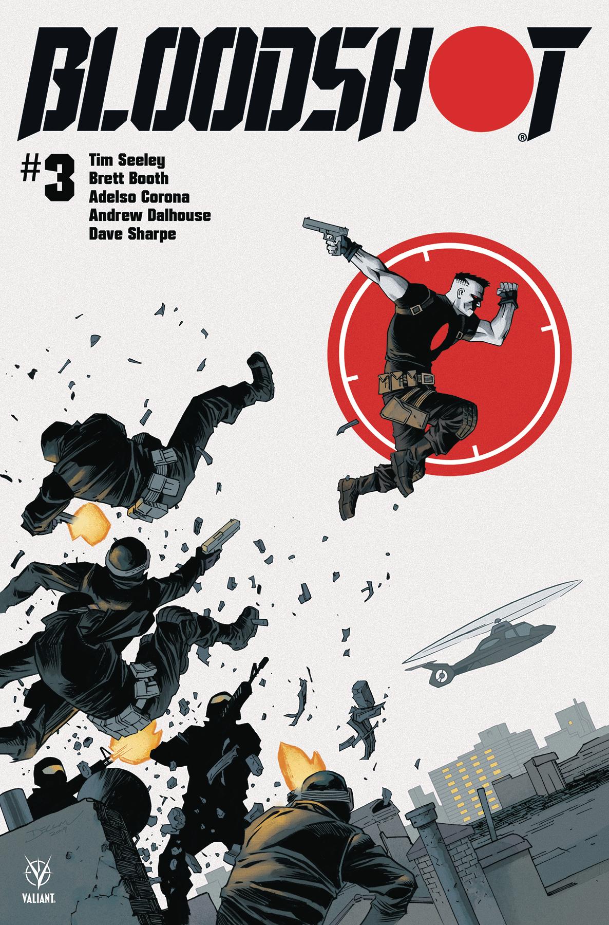 Bloodshot #3, Valiant