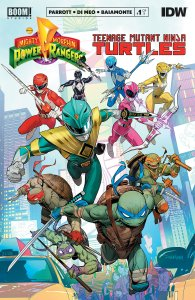 Mighty Morphin Power Rangers/Teenage Mutant Ninja Turtles #1 , IDW