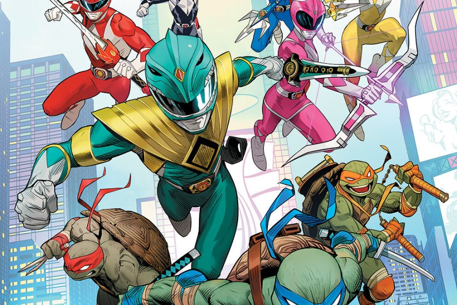 5 Reasons To Get 'Mighty Morphin Power Rangers/Teenage Mutant Ninja Turtles' #1!