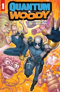 Quantum & Woody #1, Valiant