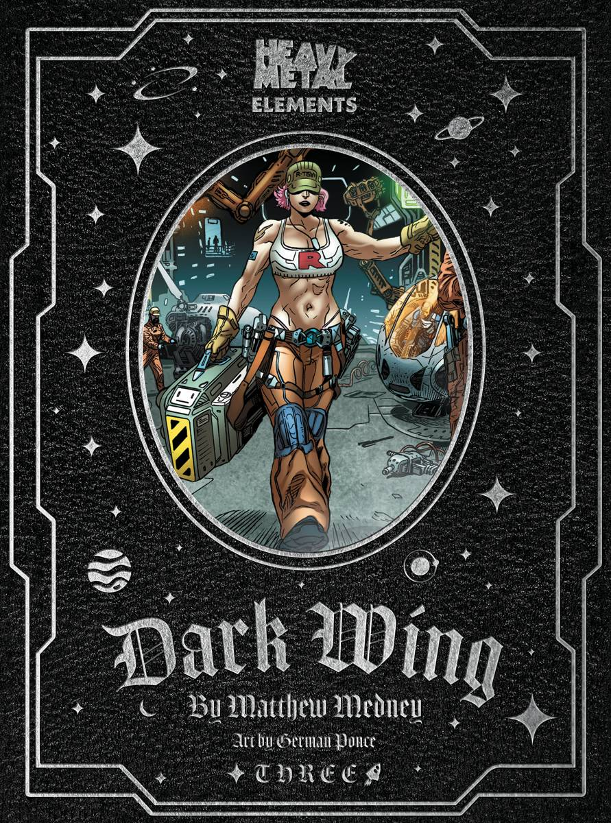 dark wing #3, heavy metal
