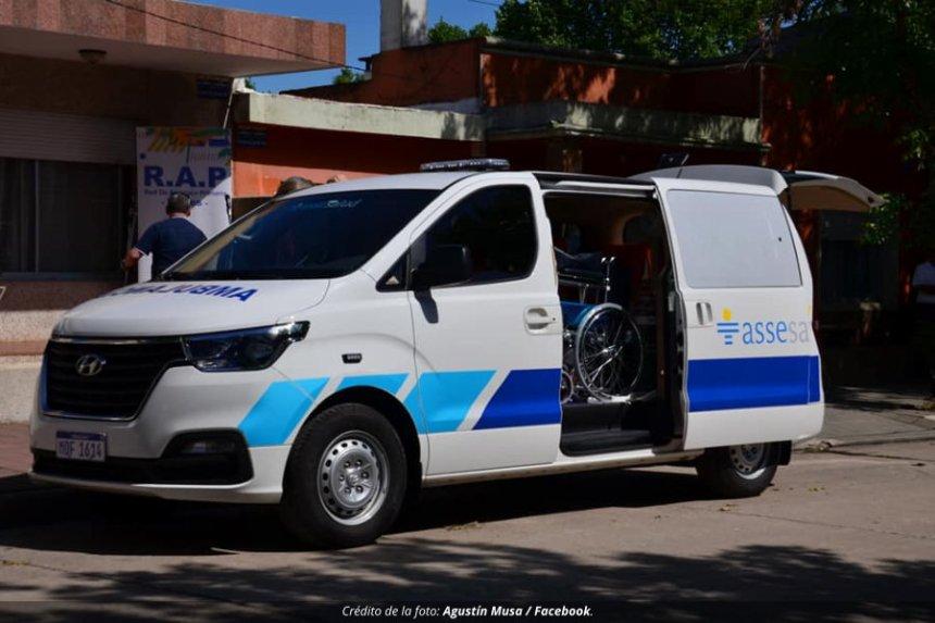 ASSE lanzó llamado para seleccionar chófer para la ambulancia de Ismael Cortinas