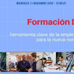 Seminario web gratuito sobre Formación Dual
