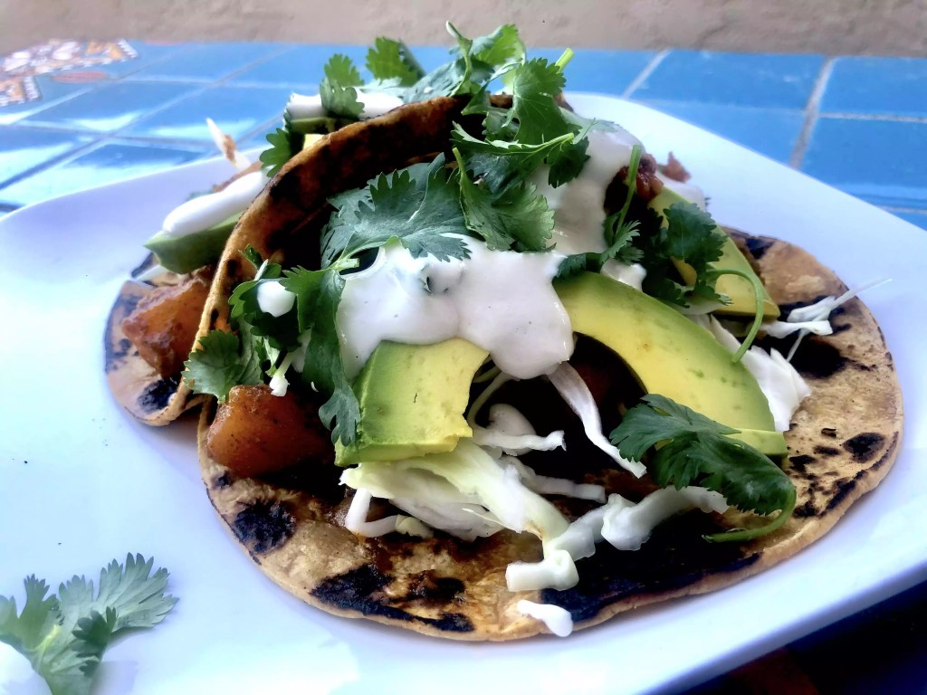 Butternut Squash & Black Bean Vegan Tacos | Villa Kali Ma