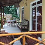 Veranda con tavolo - Villa Laura Las Terrenas