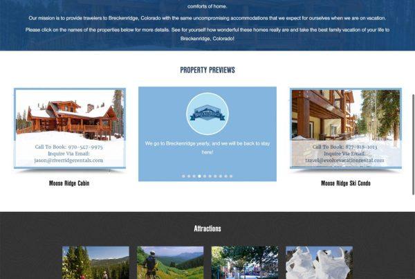 Brecken Ridge Mountain Rentals