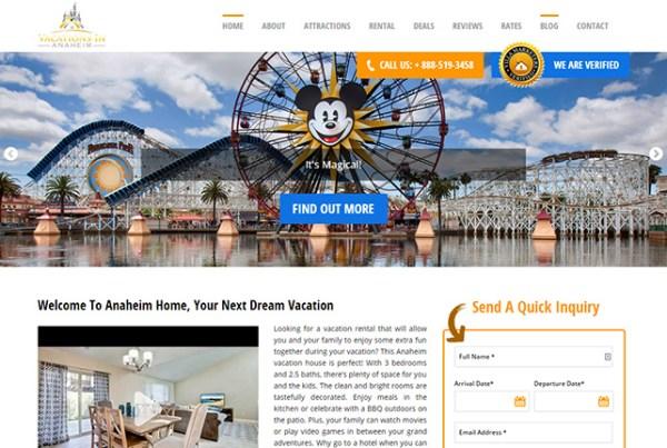 Anaheim Vacation Homes Rentals