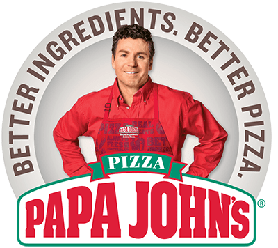 vacation rental branding example papa johns logo