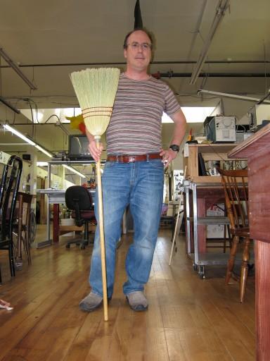 Corn broom for prototype