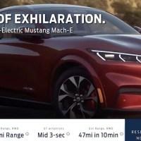 Hoppá, szinte minden kiszivárgott az elektromos Mustang terepjáróról!
