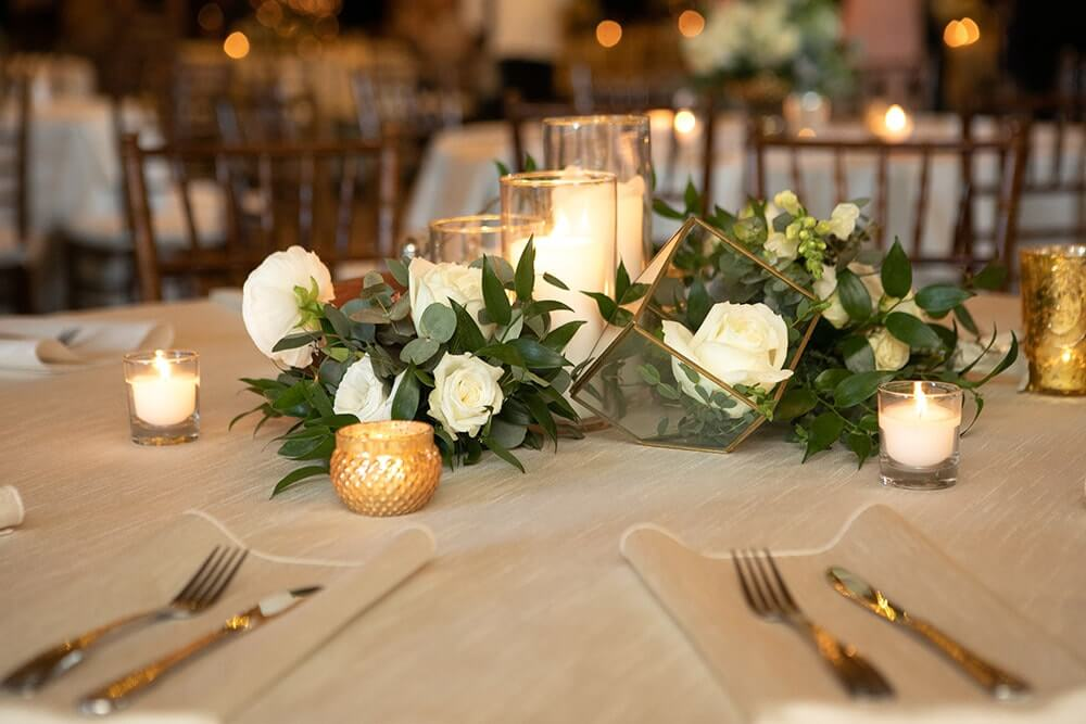 Dinner Events at The Villa by Villa Park Catering
