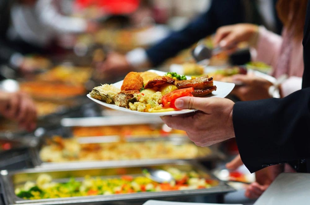 Corporate Lunch Buffet | The Villa | Orange County Lunch Events