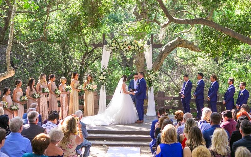 Oak Canyon Nature Center Wedding Venue