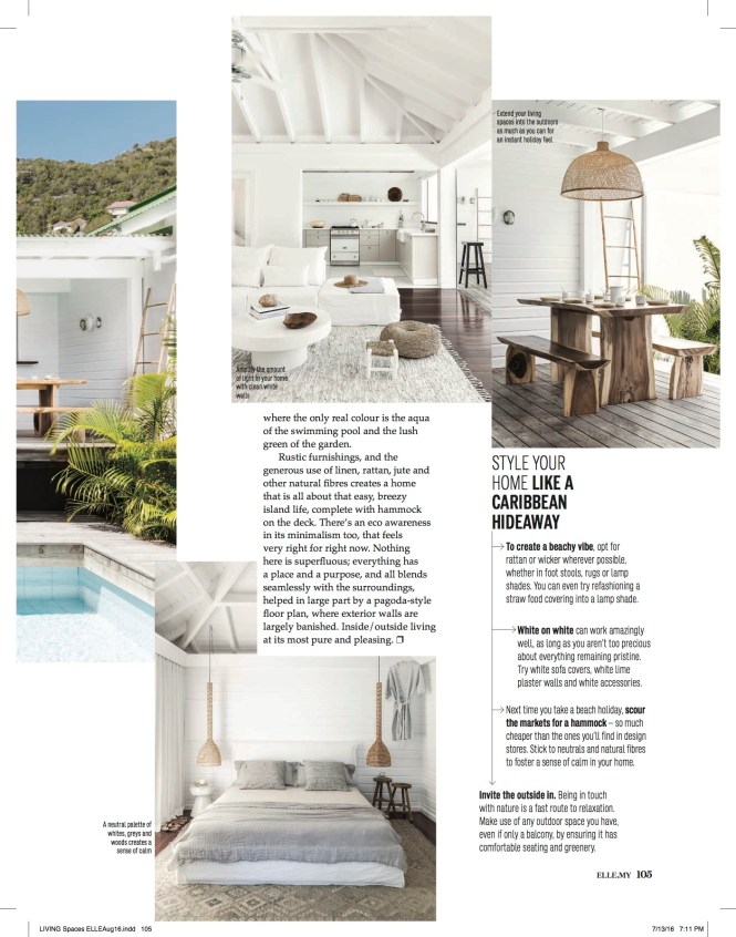 It S Hard To Believe That Our Little Abode Has Made Around The World Via Multiple Diffe Elle Decor Features