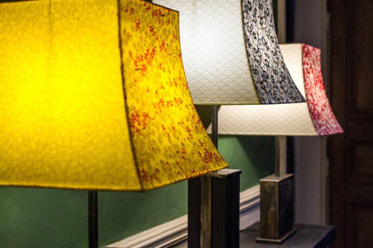 Les lampes de l'Atelier Villard.