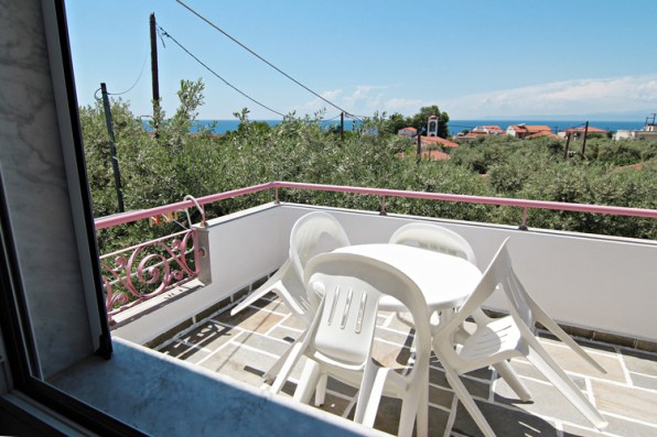 Balcony on the 2nd floor, Villa Relax
