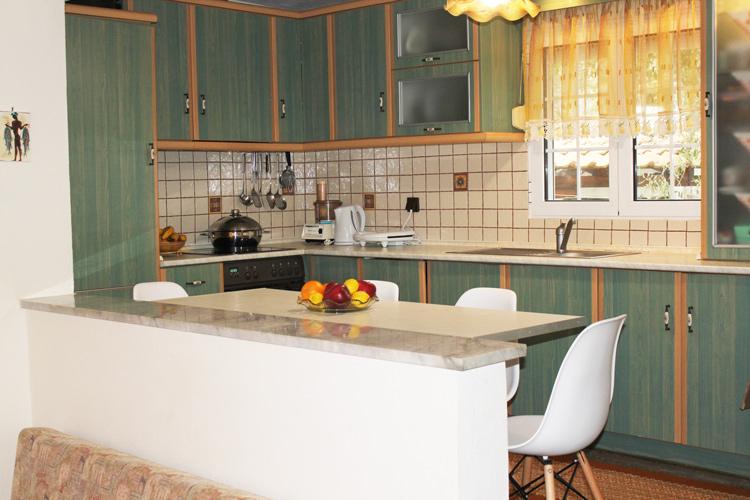 Κουζίνα στον 1ο όροφο, Βίλα Ριλάξ Θάσος