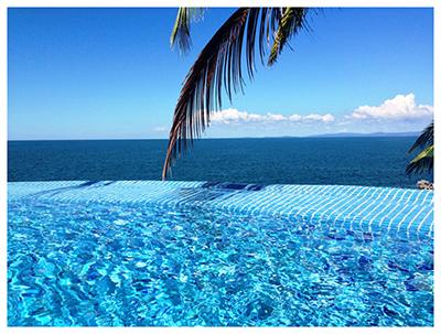 Villa Rentals Mexico Infinity Pool at Villa Estrella