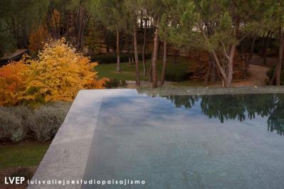Jardín y piscina privada, Madrid1
