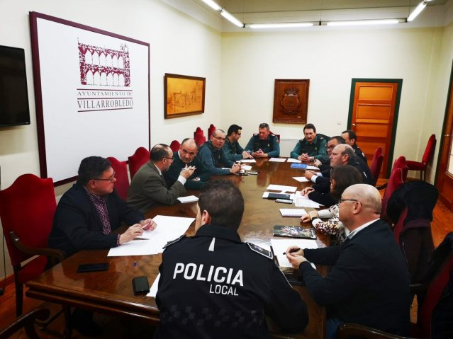 Junta local de seguridad Carnaval 2020