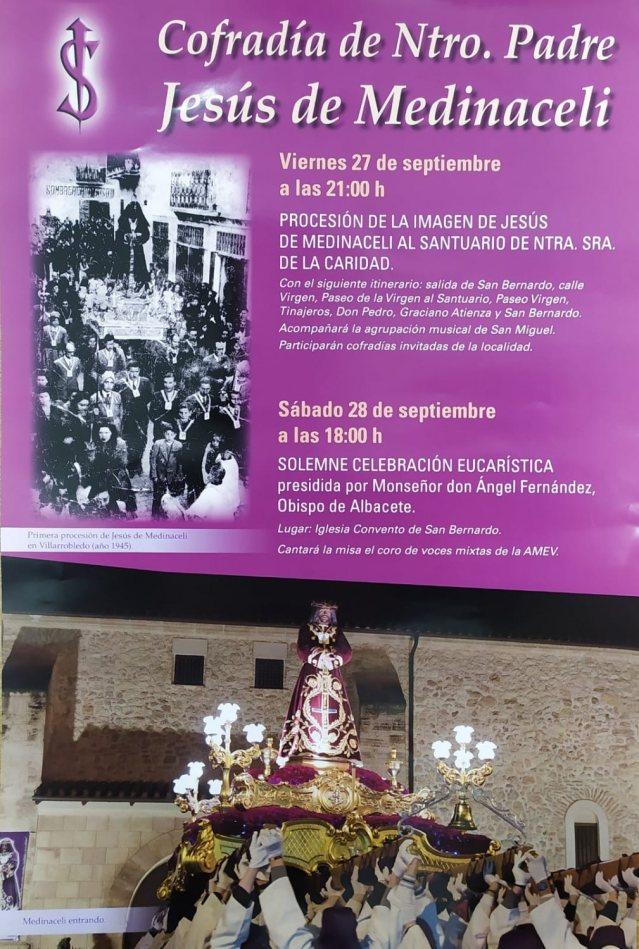 Actos Aniversario imagen Jesús de Medinaceli 1