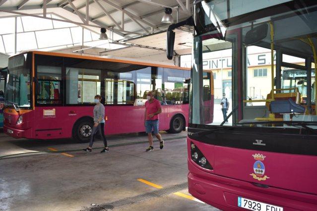 puesta a punto servicio de autobuses urbanos 1
