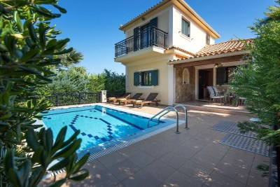 Kookis, Villa Limni Keri, Zakynthos, Greece, swimming pool, sunbeds