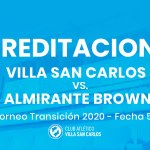 Acreditaciones ante Almirante Brown