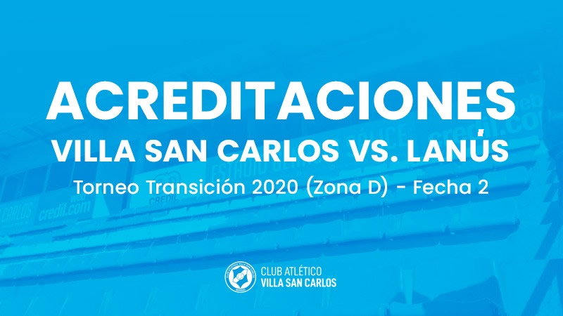 Acreditaciones vs Lanús