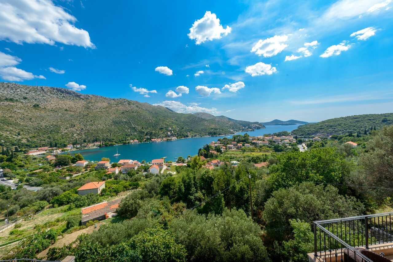 Dubrovnik Riviera Villa with pool panoramic sea view