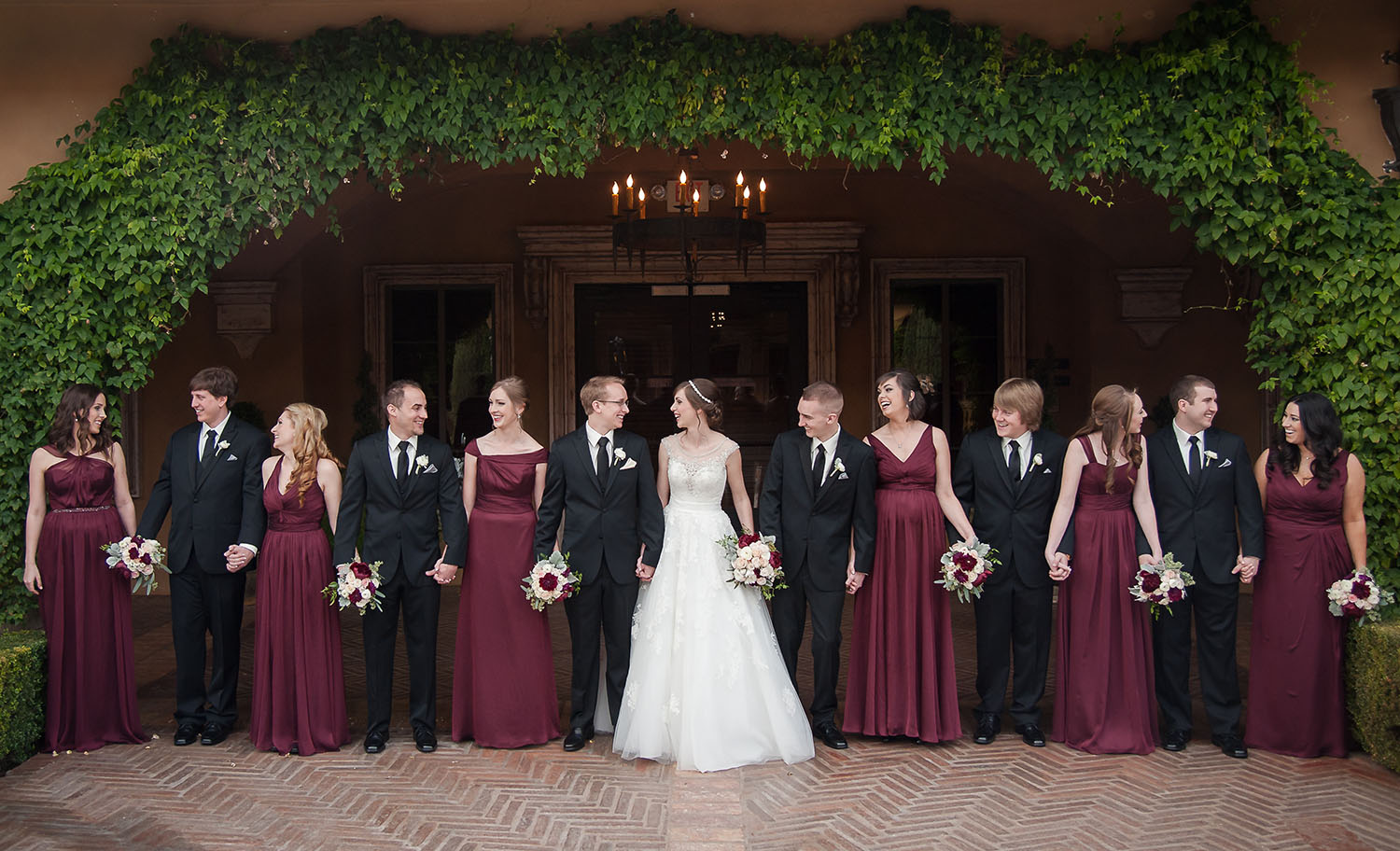 Winter Wedding Bridal Party Pictures To Pin On Pinterest