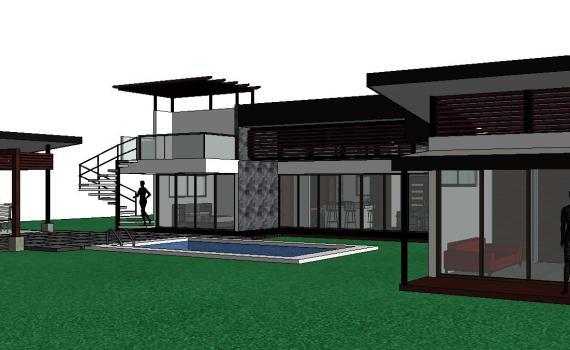 costa rica custom home