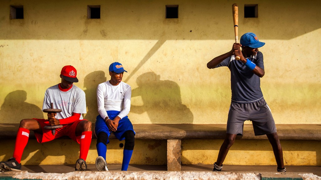 Baseball is the national pasttime in the Dominican Republic