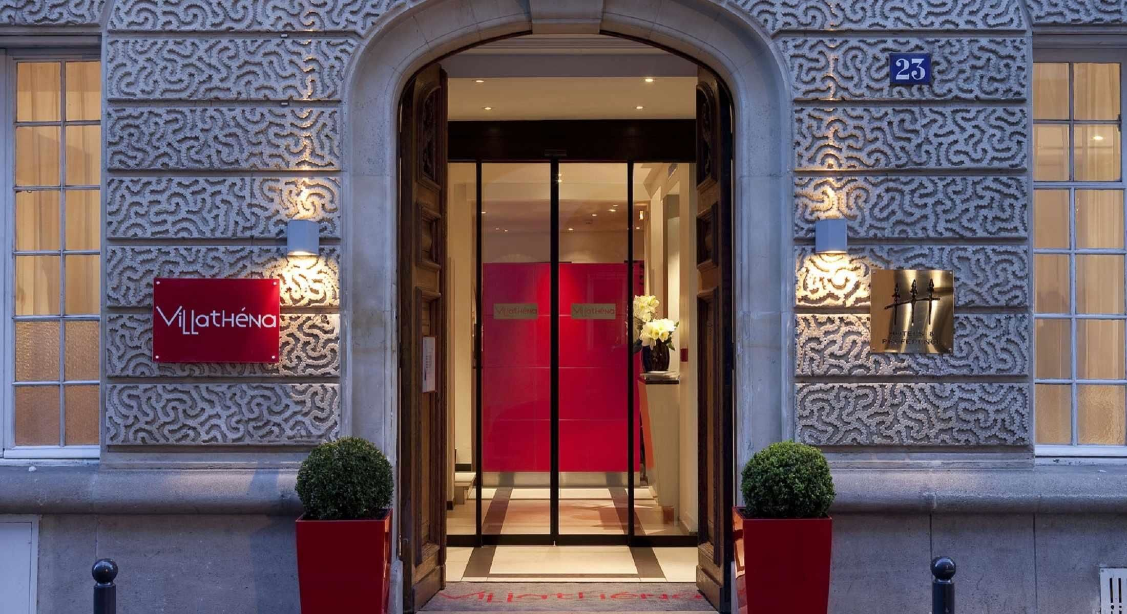 Hotel Villathena Paris Official Site 3 Star Hotel Paris 9th