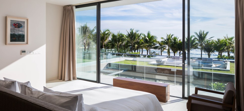 Spacious Master Bedroom with stunning seaview